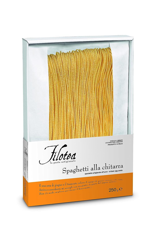 Filotea Ital Spaghetti Alla Chitarra 5er Pack 5 X 250 G Amazon