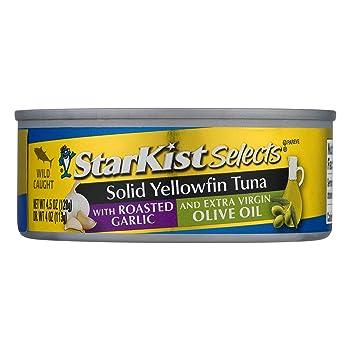StarKist E.V.O.O. Solid Yellowfin Canned Tuna