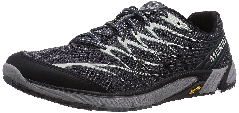Merrell Bare Access 4, Zapatillas de Running para Asfalto para Hombre 40 EU|Negro (Black/Dark Grey)