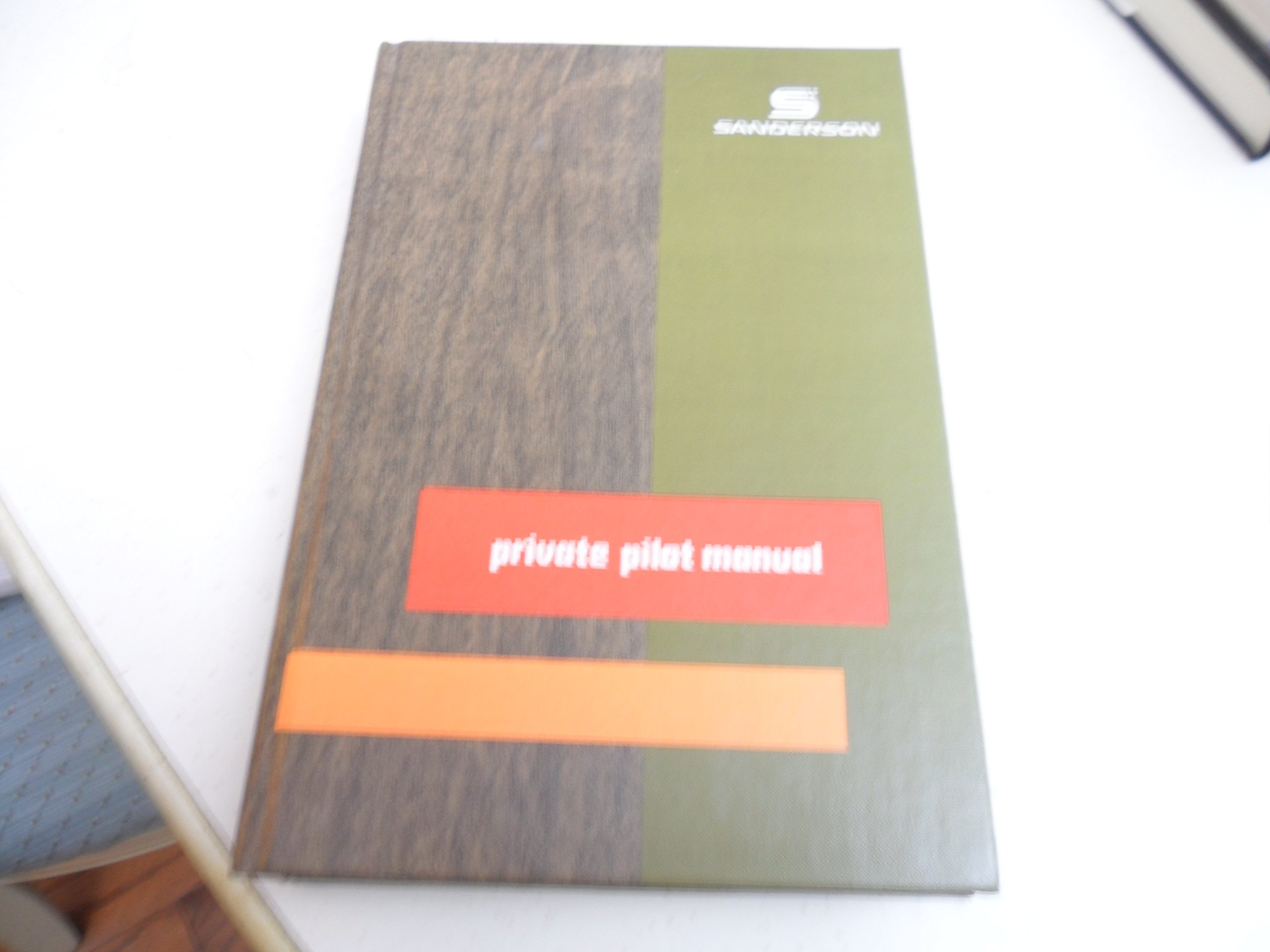 Private Pilot Manual: Jeppesen Sanderson: 9780884870272: Amazon.com: Books