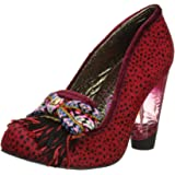 Irregular Choice Womens To Shoe Or Not To Shoe Court Shoes