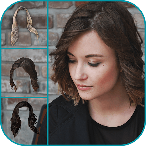 Woman Hairstyle Photo Maker ()