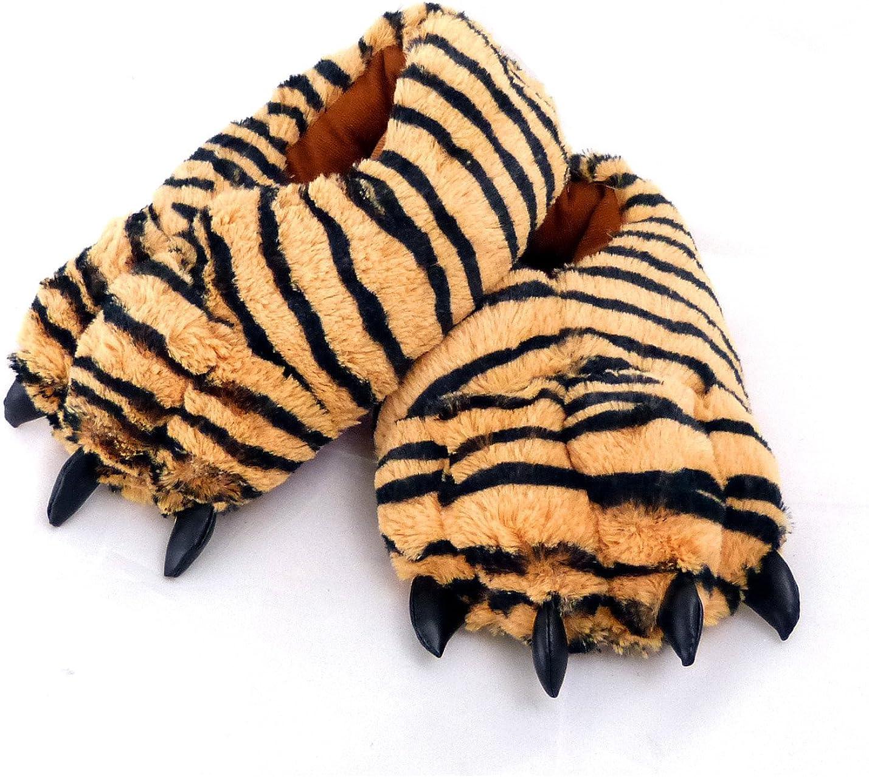 Sunny Toys Coole Tigerhausschuhe Hausschuhe Tiger Gr/ö/ße S bis XXL