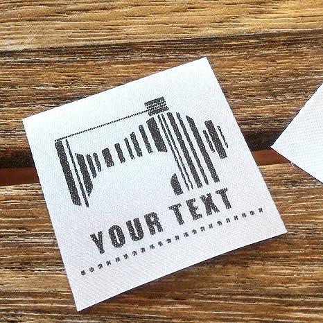 100 etiquetas de costura para planchar sobre la ropa ...