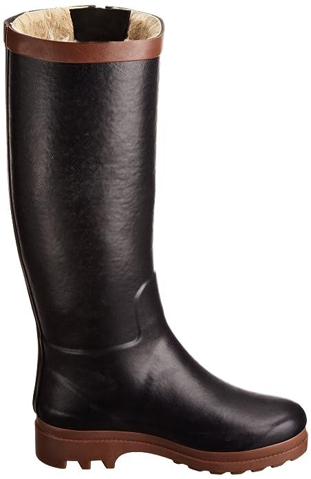 Aigle Women's Aiglentine Fur Wellington Boots: Amazon.co.uk: Shoes & Bags