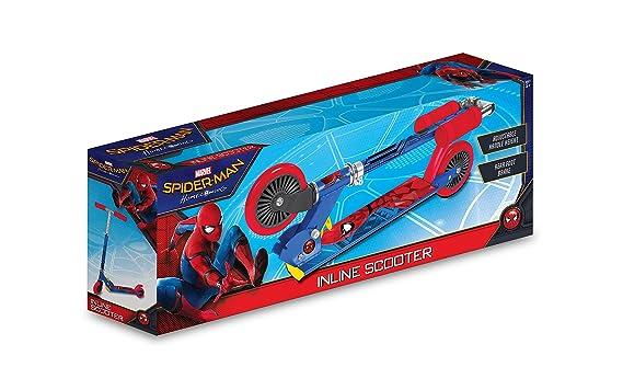 Spiderman Homecoming Inline - Patinete: Amazon.es: Juguetes ...
