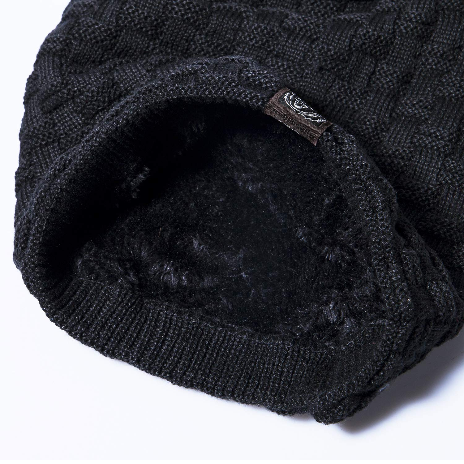 cb1988f0aa6 Mens Beanie Hat - Winter Warm Thermal Knit Caps for Men Women