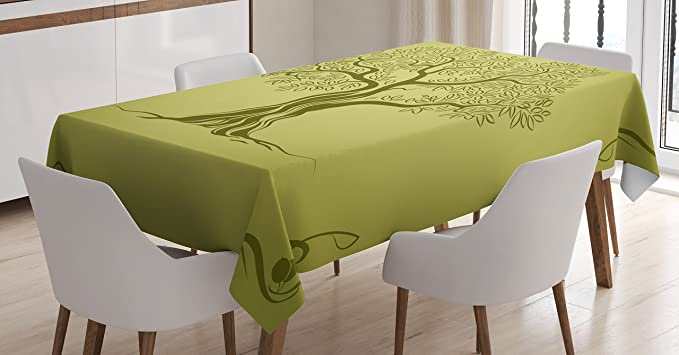 Premium Garden Table Cover Tarpaulin Cover 230 x 135 x 70 Olive Green