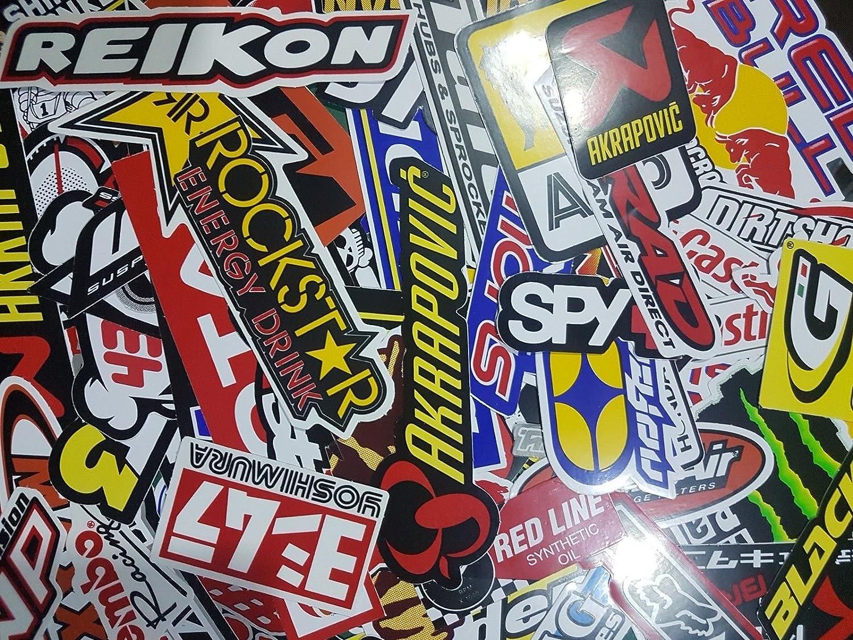 250 Random Mix Stickers Decal Motocross Motorcycle Car ATV Racing Bike Helmet