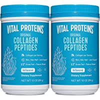 Vital Proteins Collagen Peptides Powder Supplement, Shrink-Wrapped 10oz Bundle, Hydrolyzed Collagen - Non-GMO - Dairy…