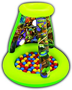 Teenage Mutant Ninja Turtles Half-Shell Heroes Turtle Power Playland Set with 15 Balls