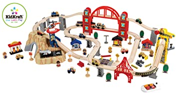 KidKraft Metropolis Train Set: Amazon.co.uk: Toys & Games