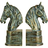Deco 79 75390 Polystone Bookend Pair Exhibits Passion for Books