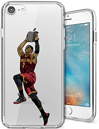 buy popular 4741b 65f6e iPhone 7 Case, Chrry Cases Ultra Slim [Crystal Clear] [NBA Player ...