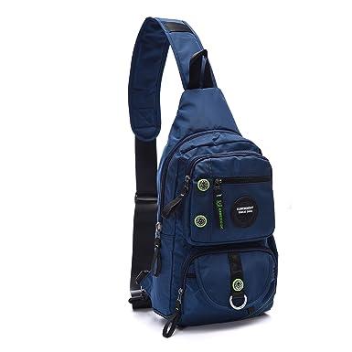 Amazon.com: Lanspace Sling Bag Cross Shoulder Backpack for Laptop ...