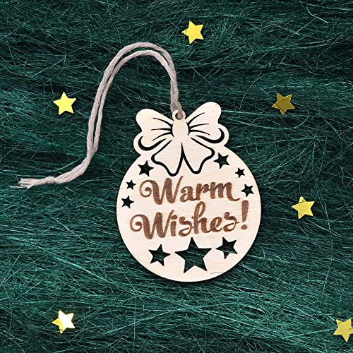 Wood Christmas Decorations.Amazon Com Christmas Ornaments Wooden Wood Christmas