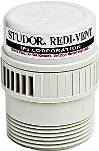 Studor 20346 Redi Vent, Standard, White