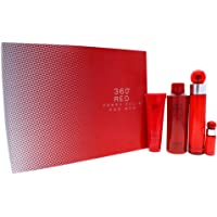 Perry Ellis 360 Red 4 Piece Gift Set for Men 3.4oz