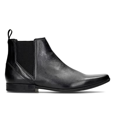 Clarks Men's Glement Top Boots Black Black