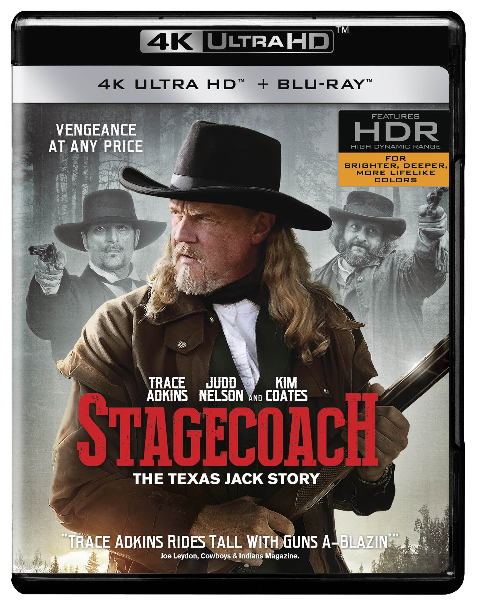 Blu-ray 3D : Stagecoach: The Texas Jack Story (With Blu-Ray, 4K Mastering, Widescreen, Dubbed, 2 Pack)