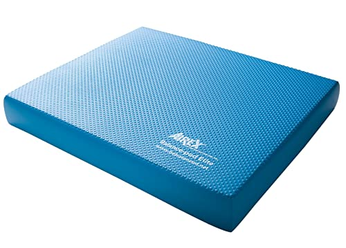 Airex Elite Balance Pad Foam Board Stability Cushion Exercise Trainer for Balance, Stretching, Physical Therapy, Mobility, Rehabilitation and Core Strength Training 16 x 20 x 2.5, Elite Blue