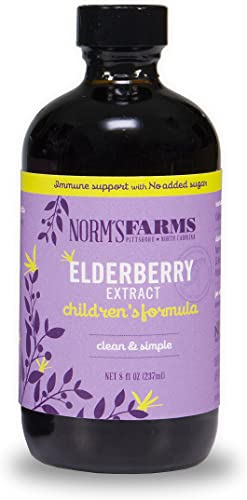 Norm's Farms Children's Formula Black Elderberry Extract and Blueberry Juice
