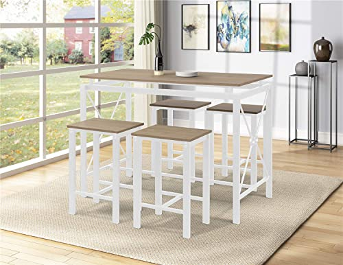 Bellemave 5 Piece Dining Table Set