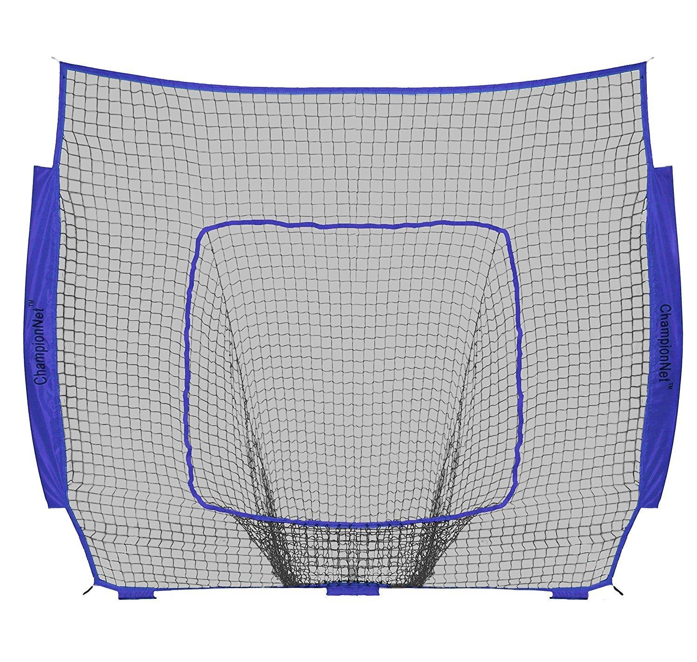 ChampionNet Baseball/Softball 7' x 7' Hitting Net Replacement NO FRAME - Navy by ChampionNet