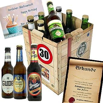 amazing fr mnner zum bier geschenk box gratis with zum 30 selber machen