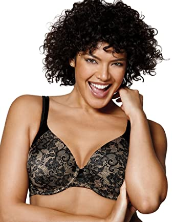 4e42a73a32935 Playtex Love My Curves T-Shirt UW Bra at Amazon Women s Clothing store