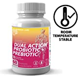 Nourish Labs Organic Prebiotic Probiotic Supplement for Women. Mood Boosting Dual Action Probiotics with Prebiotics and Cranberry for Women's Yeast and Vaginosis.