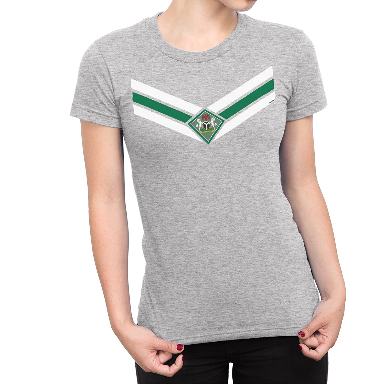 De Las Mujeres Nigeria Team Emblem Señoras Fútbol Camiseta Copa ...