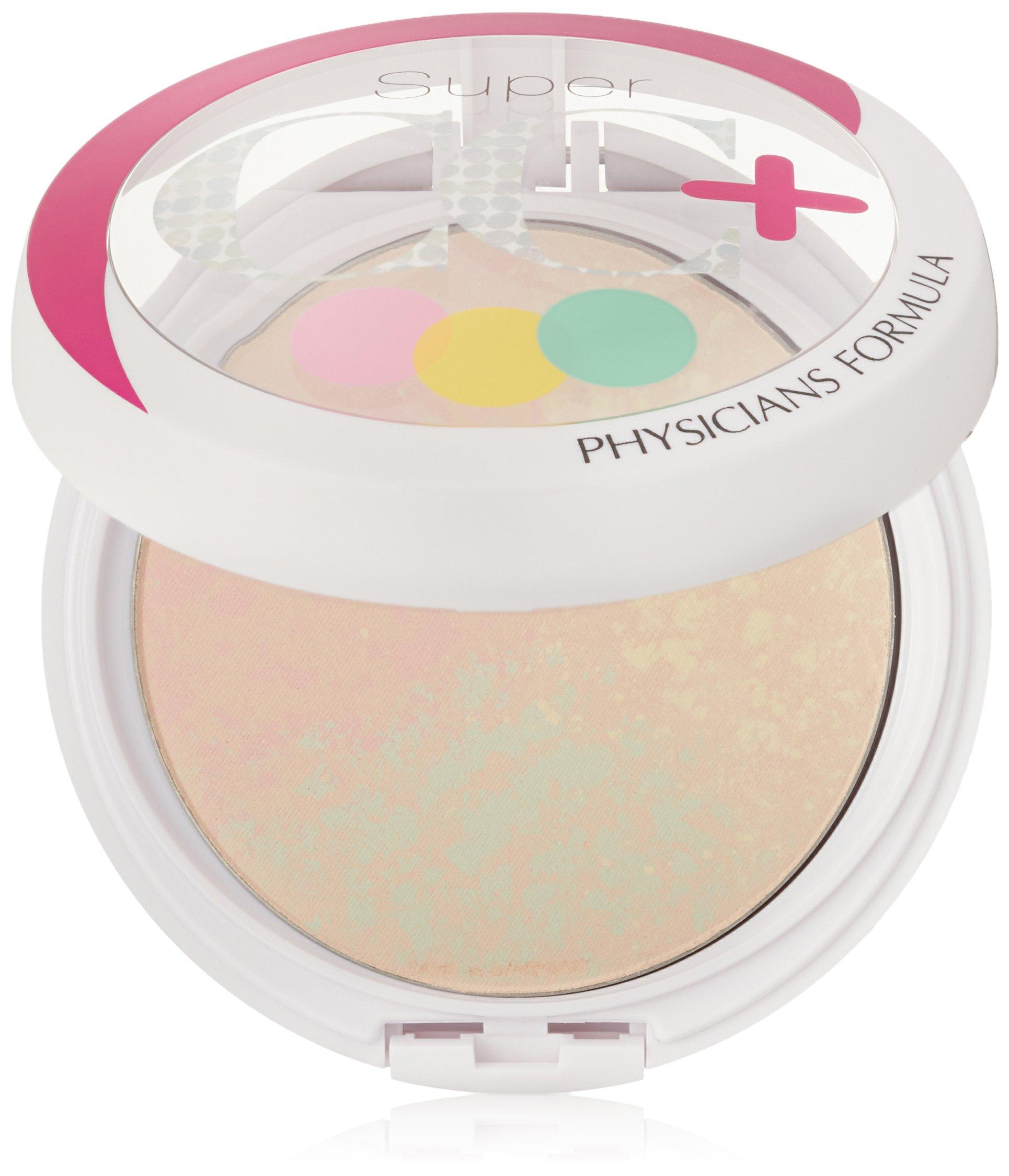 Physicians Formula Super CC+ Color-Correction + Care CC+ Powder SPF 30, Light, 0.3 Ounce