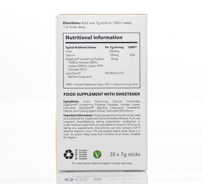 SimplyGo ProBio - Probiótico sabor vainilla con inulina para ...