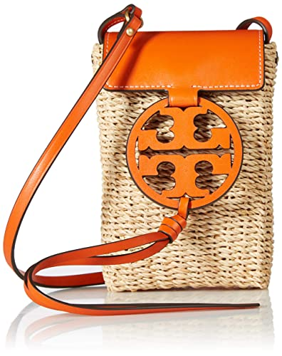 5a28af359 Amazon.com: Tory Burch Miller Straw Pomander Smartphone Crossbody Messenger  Bag: Shoes