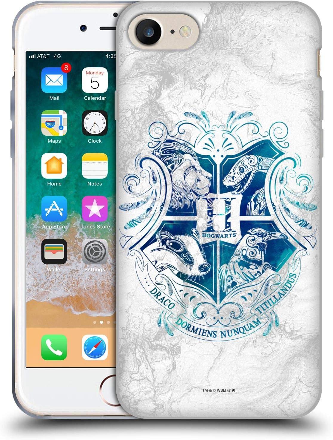 Head Case Designs Offiziell Zugelassen Harry Potter Hogwarts Aguamenti Deathly Hallows Ix Soft Gel Handyhülle Hülle Huelle Kompatibel Mit Apple Iphone 7 Iphone 8 Iphone Se 2020 Elektronik