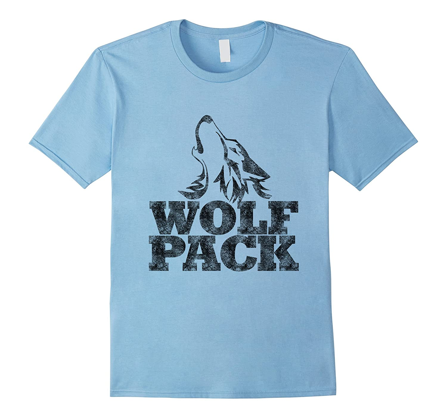 Wolf pack t shirt funny vintage art artvinatee for Amazon review wolf shirt