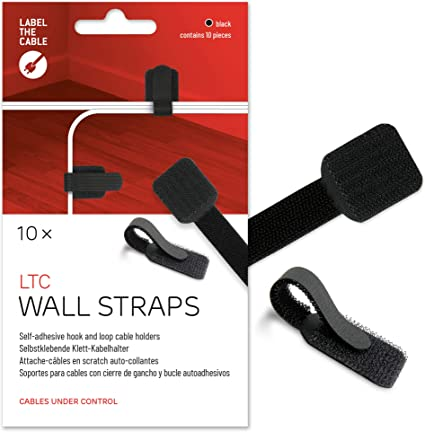 Powerful Sticky Wall Holder Desktop Cable Management Wire Organizer Clip Y