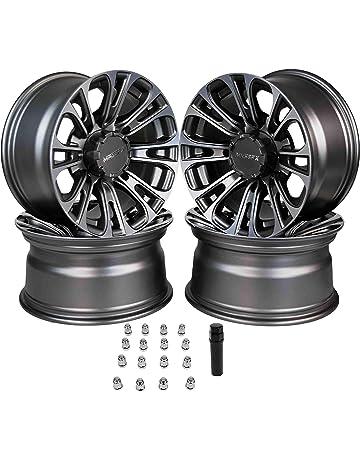 ATV MX Wheel Set - x2 KXF 400//450R 10x5 3+2 4x144//156 x2 9x8 3+5 4x110//115