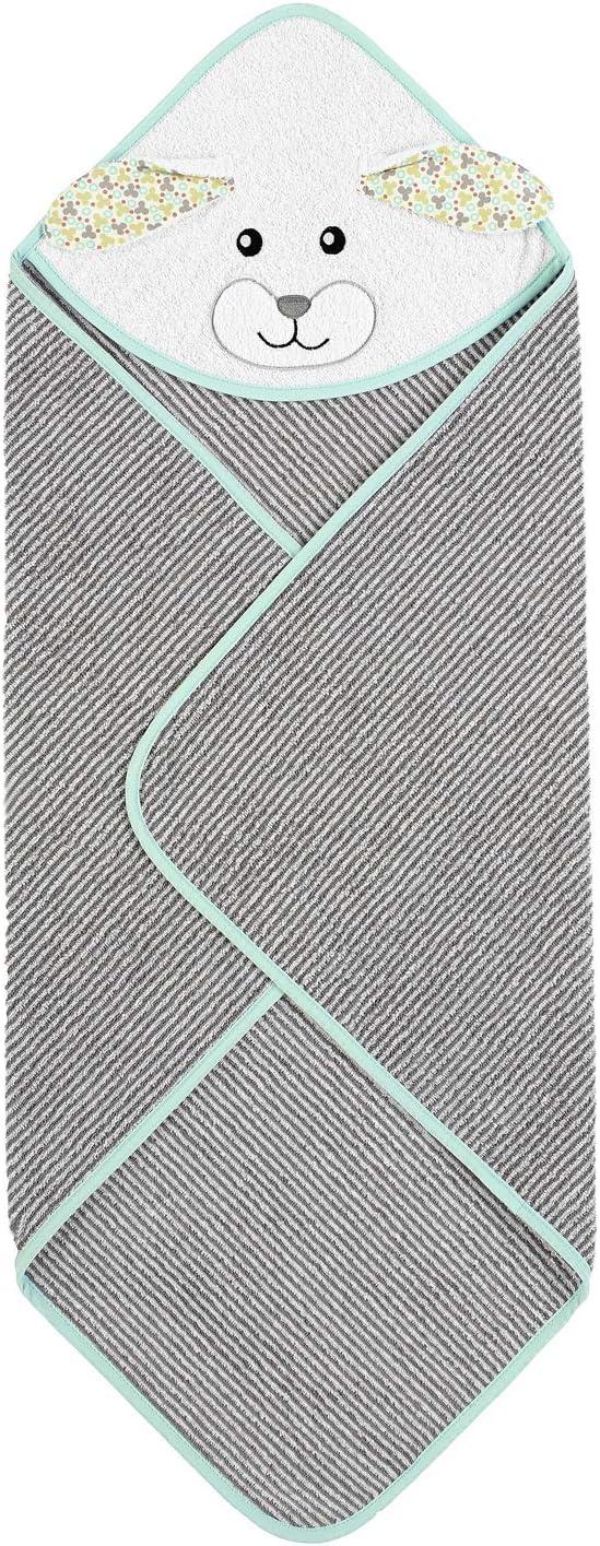 Sterntaler Motiv-Badetuch Ente Edda Gelb Alter: ab 0 Monate 80 x 80 cm