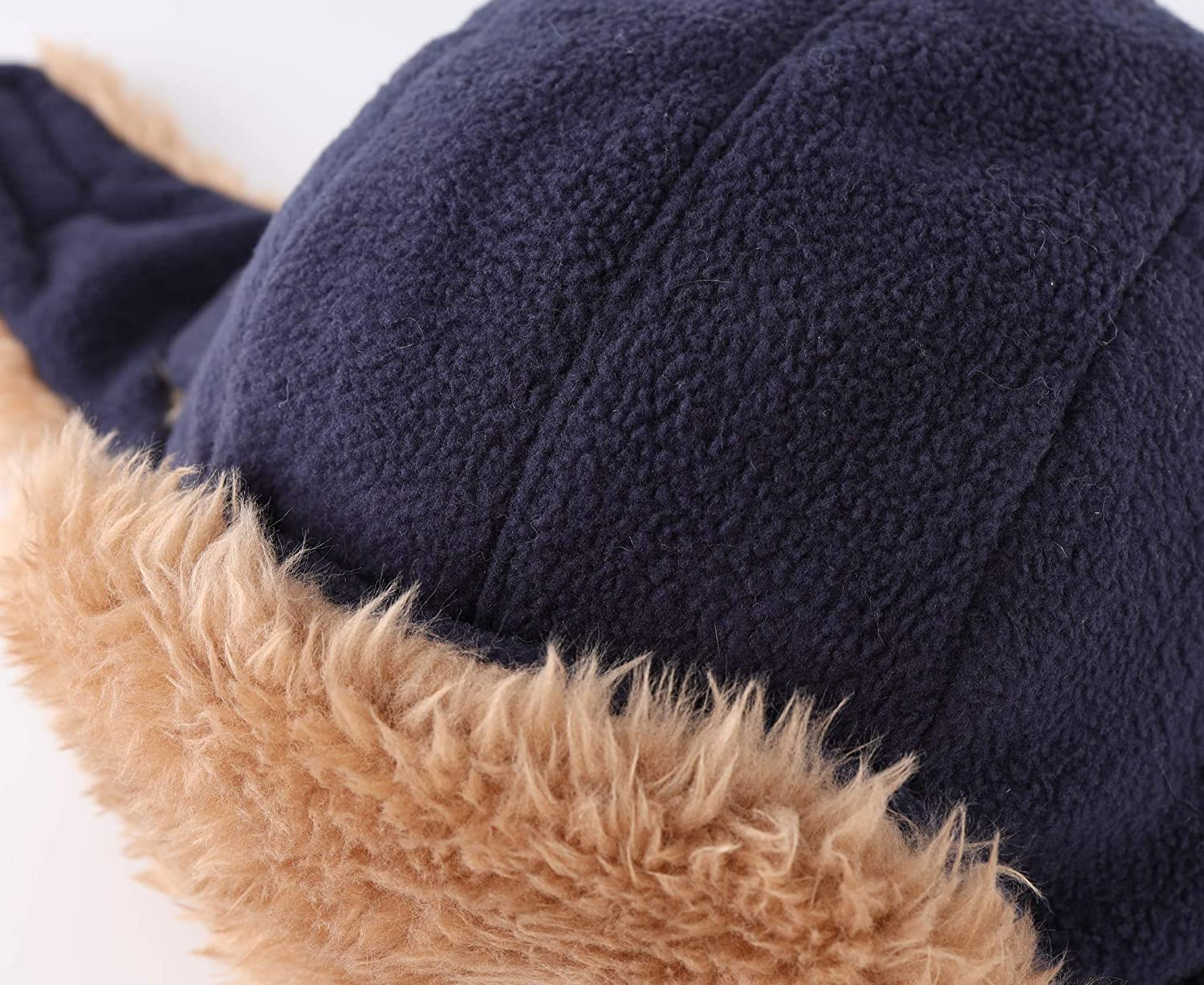 Connectyle Toddler Boys Kids Fleece Trapper Winter Hat with Large Flaps Warm Hat