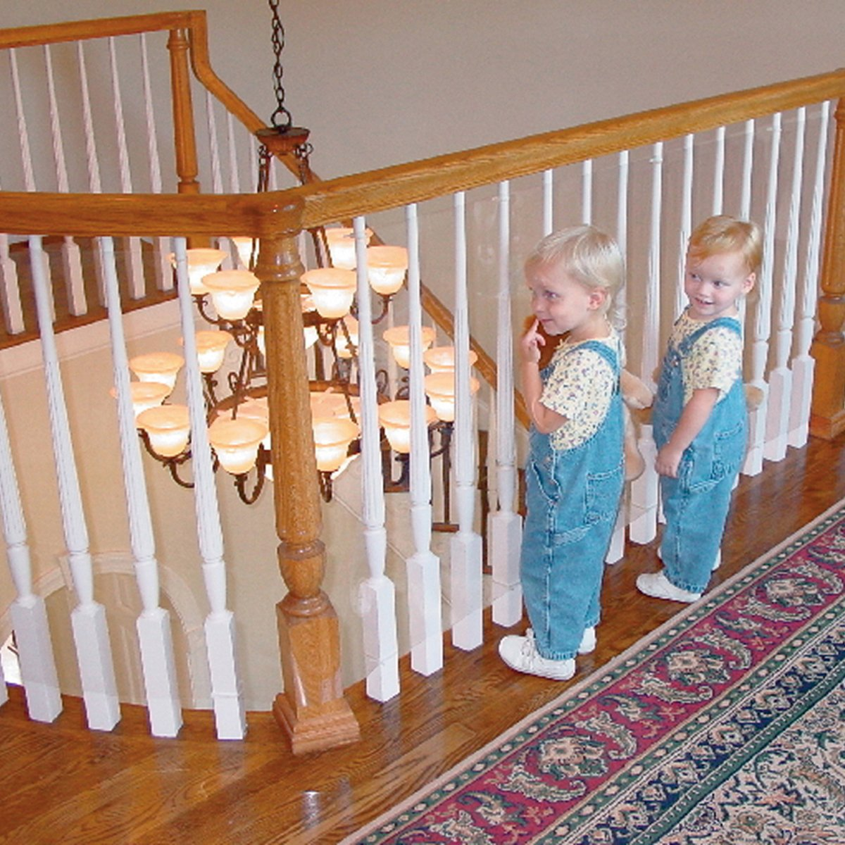 Amazon Com Kidkusion Kid Safe Banister Guard Childrens Home