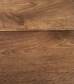 rutschhemmend PVC-Belag verf/ügbar in der Breite 2 m /& in der L/änge 2,0 m PVC Vinyl-Bodenbelag in hellbrauner Holzoptik CV-Boden wird in ben/ötigter Gr/ö/ße als Meterware geliefert