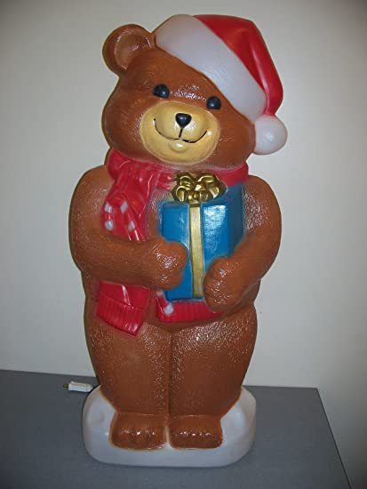 new blow mold yard decoration christmas bear giant 34 - Christmas Blow Mold