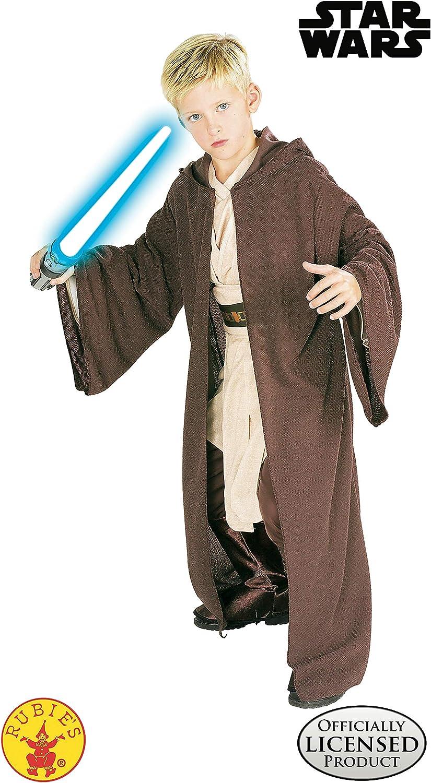rubies 882025 - Bata de Jedi para disfraz de niño , Marrón, S (3 ...