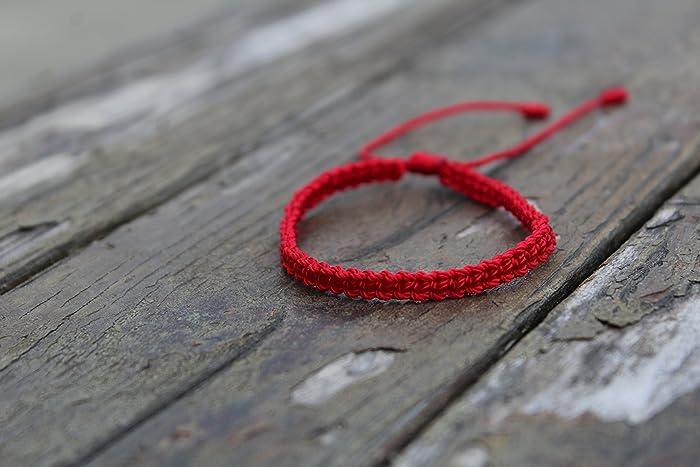 ea632e625afe Red string bracelet,red bracelet,kabbalah bracelet, pulsera roja,protection  bracelet, pulsera roja. pulsera de hilo,buddhist bracelet