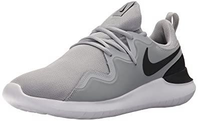 Nike Men's Tessen Running Shoe, Black/White/Anthracite, 6 Regular US
