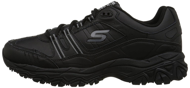 Skechers-Men-039-s-After-Burn-Memory-Fit-Strike-Off-Lace-Up-Sneaker thumbnail 9