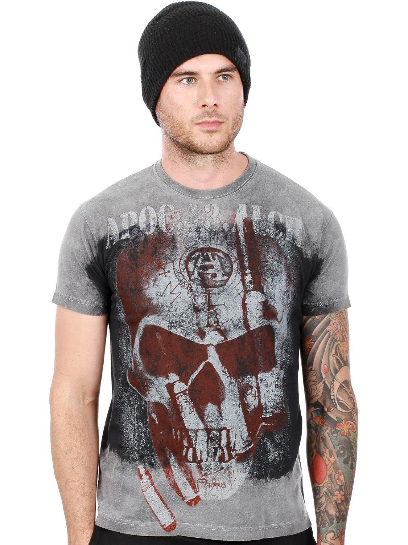 'Bullet'-XL- Central/Black, T-shirt
