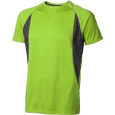 ffea2309 Elevate Mens Quebec Short Sleeve T-Shirt: Amazon.co.uk: Clothing